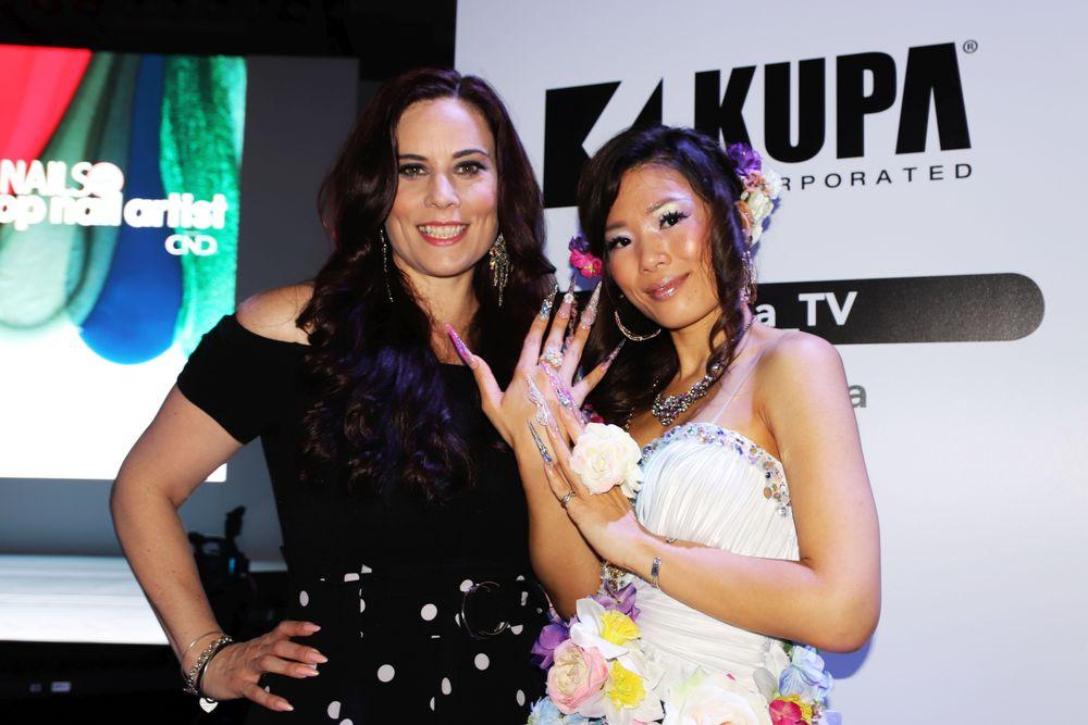 <p>Kupa's Elaine Watson and Mie Kitabayashie</p>