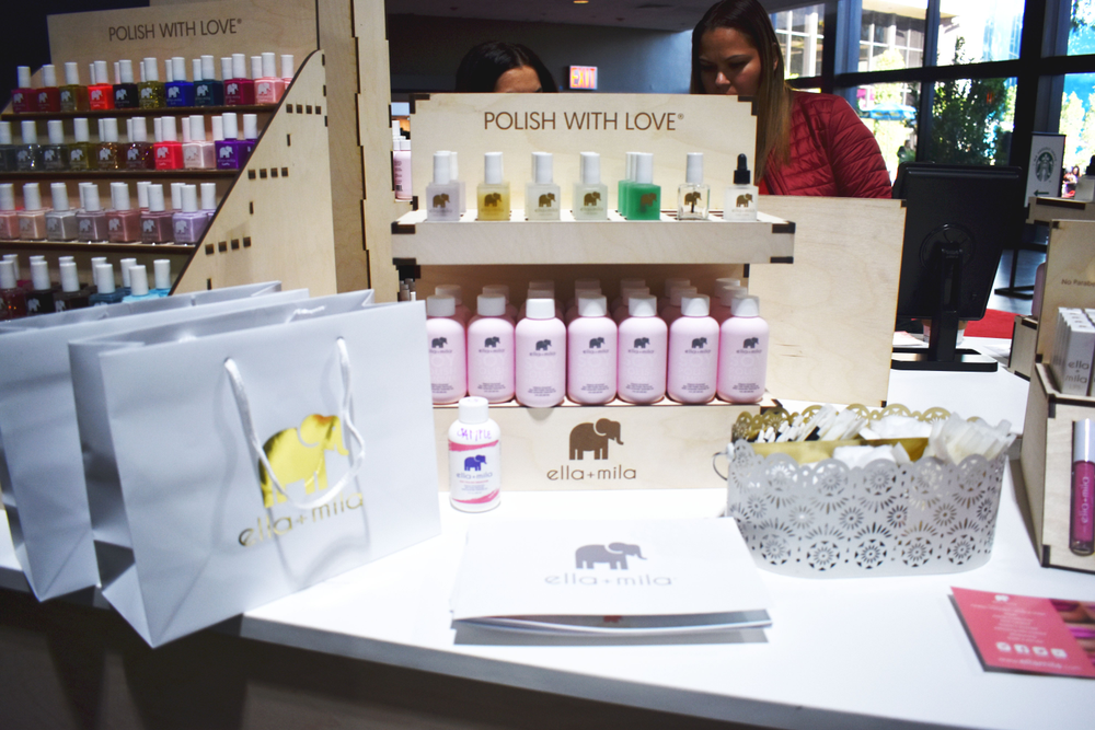 <p>Ella + Mia recently redesigned their soy polish bottle</p>