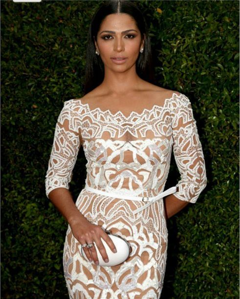<p>Camila Alves wore Entity's Zoom Lens. Her nails were done by celeb manicurist Kimmie Kyees. Image via @kimmiekyees.&nbsp;</p>