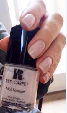 <p>Celebrity manicurist Carla Kay painted Betsy Brandt's nails for the Emmys using Red Carpet Manicure's Candid Moments. Image courtesy of Red Carpet Manicure.&nbsp;</p>