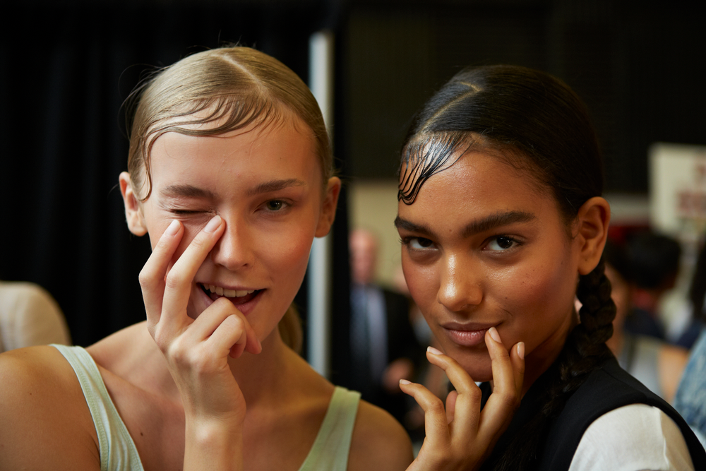 <p>To complement the urban vibe, Michelle Saunders for Essie created a hip, neutral nail that resembled the tone of a muted nail bed at DKNY.&nbsp;Photo courtesy of Essie.&nbsp;</p>