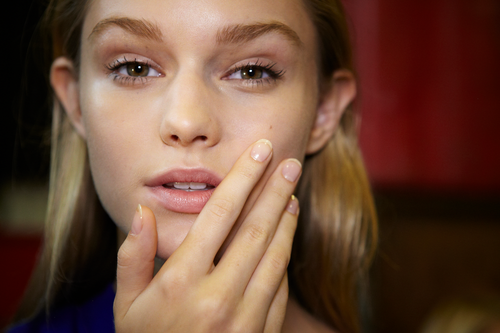 <p><strong>Essie</strong>&rsquo;s Sensitivity, Fed Up, and Good to Go were the polishes of choice at DKNY&rsquo;s show.</p>