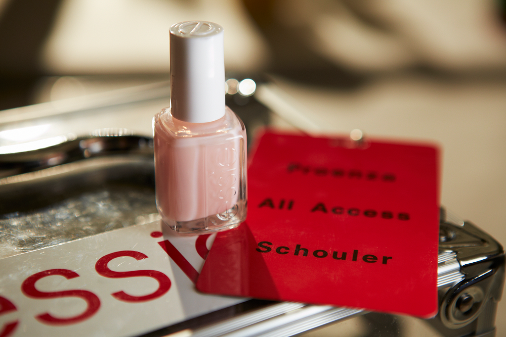 <p>Saunders used two coats of Mademoiselle on both hands and feet for the Proenza Schouler show.&nbsp;</p>