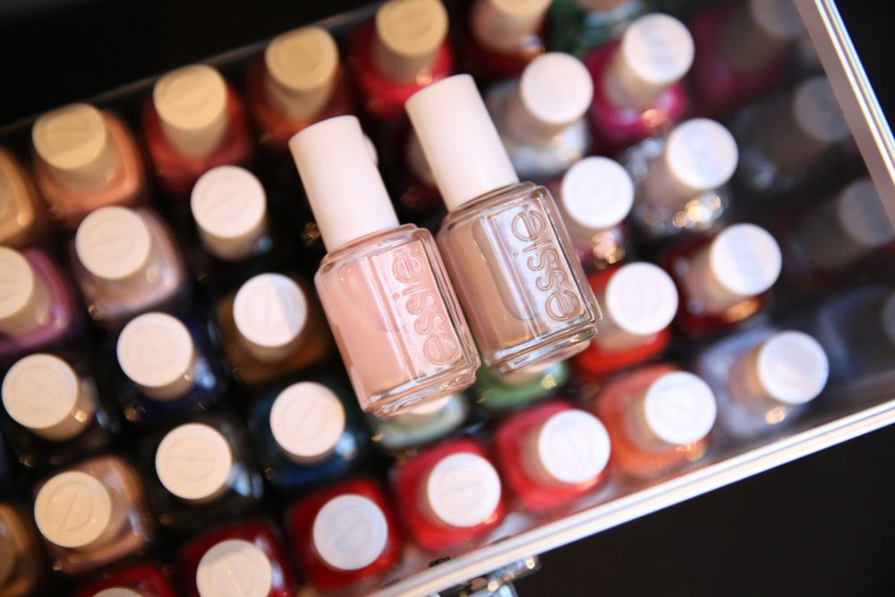 <p>Remark layered Essie Mademoiselle over Au Natural for Yigal Azrouel. Photo courtesy of Essie.&nbsp;</p>