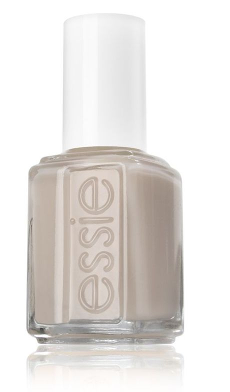 <p><strong>Essie</strong> Playa del Platinum is an elegant and sheer sandy grey.</p>