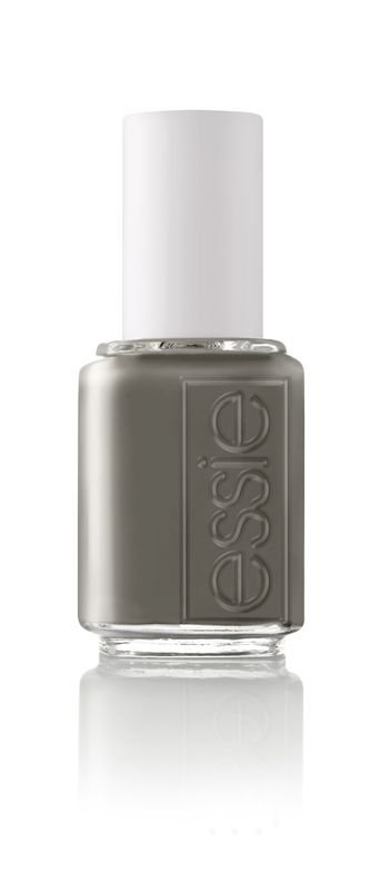 <p><strong>Essie</strong> Power Clutch is a striking, deep grey-green.</p>