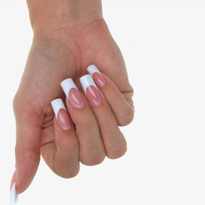 Perfect French Manicure with EzFlow's HD Acrylics