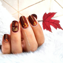22 Fall Nail Designs to Match Your Pumpkin Spice Latte