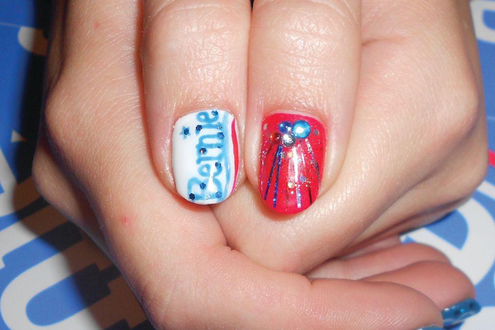 """<p>Nails by Alayna Josz, Salon Salon, New London, N.H. <a href=""""http://www.instagram.com/ladyalayna"""">@ladyalayna</a></p>"""