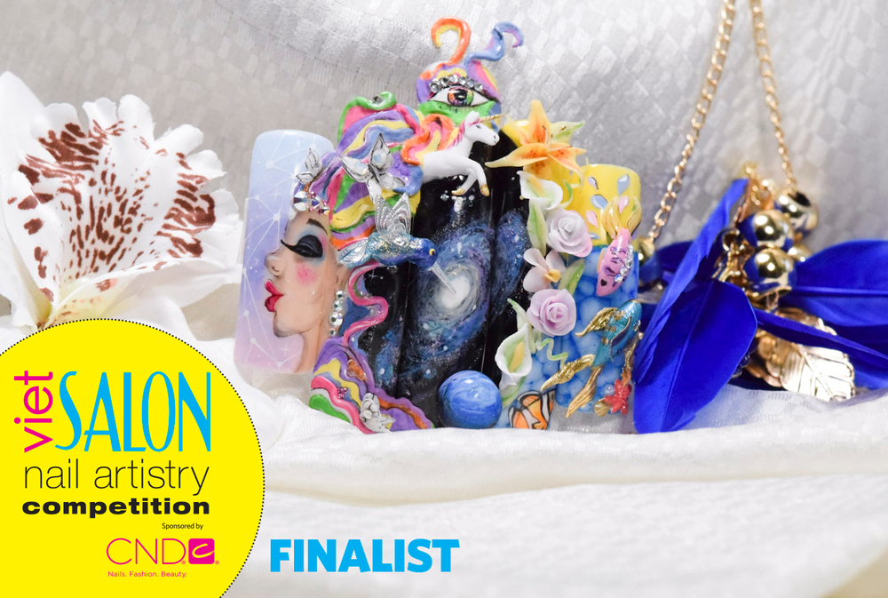 "<p>Finalist: Nails by April Ryan for the <a href=""http://www.viet-salon.com"">VietSALON</a> Nail Artistry Competition</p>"