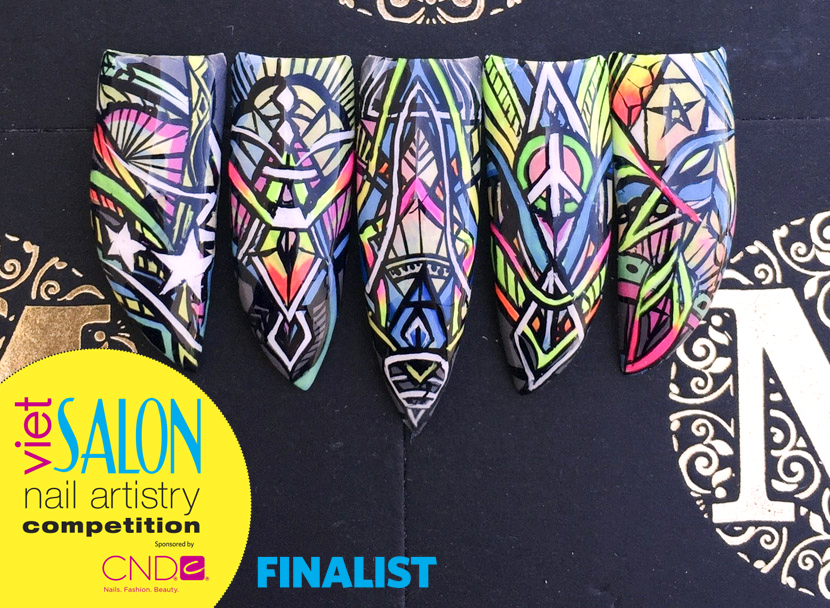 "<p>Finalist: Nails by Truc Nguyen for the <a href=""http://www.viet-salon.com"">VietSALON</a> Nail Artistry Competition</p>"