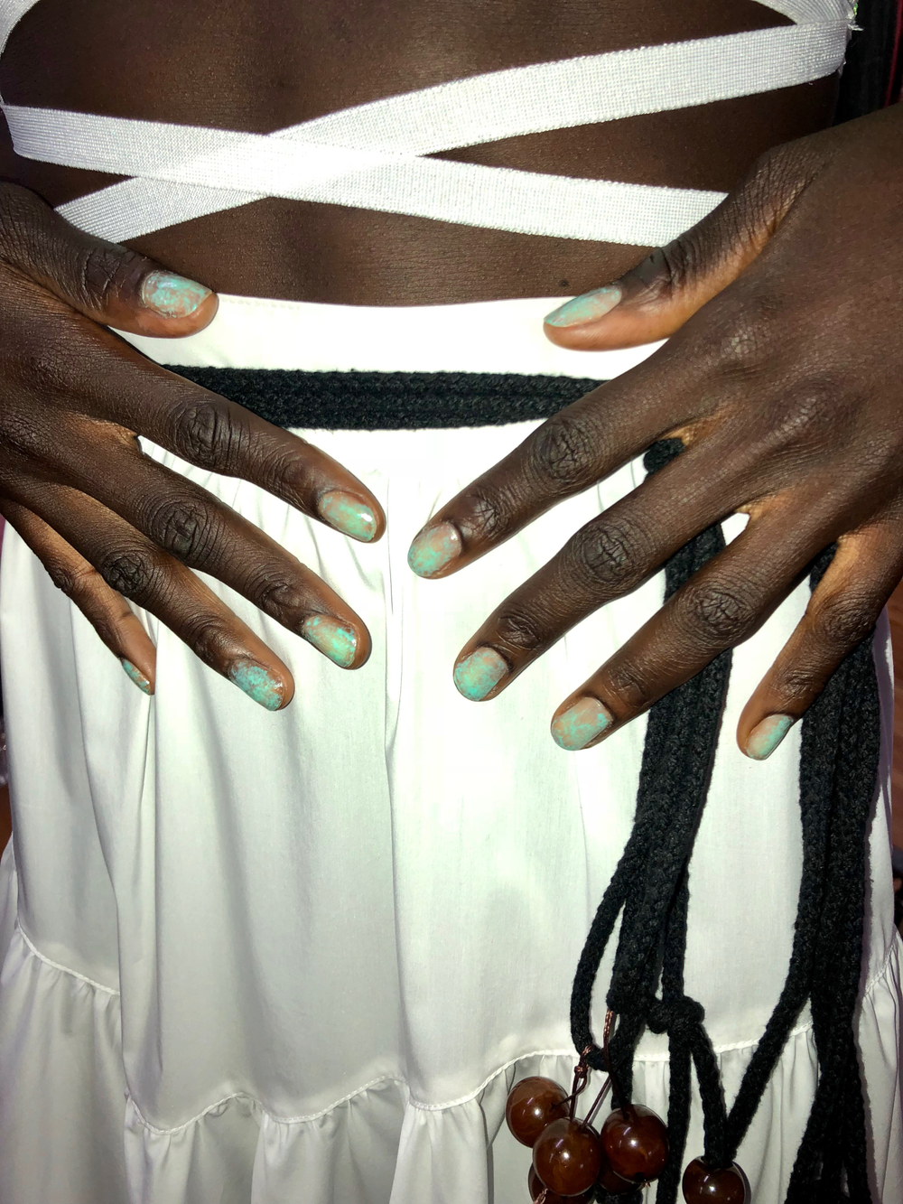 <p>Orly for Maryam Nassir Zadeh. Lead manicurist: Holly Falcone. Photos courtesy of Orly.</p>
