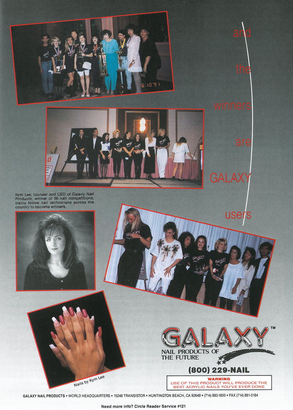 <p>A Galaxy ad from the early 1990s.</p>