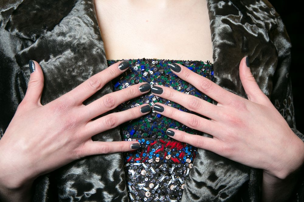 <p>Londontown for J. Mendel. Photo courtesy of Erin Baiano for beauty.com</p>