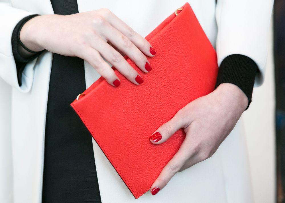 <p>Deborah Lippman for Kate Spade New York. Photo courtesy of Erin Baiano of beauty.com</p>