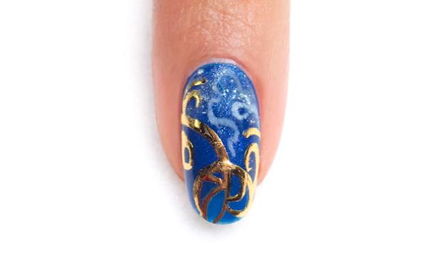 Cinderella Spring 2015 Gelish Collection: The Golden Carriage