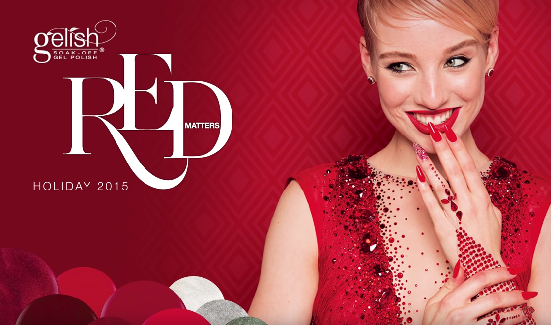 Red Matters: Gelish Holiday 2015 (Behind the Scenes)