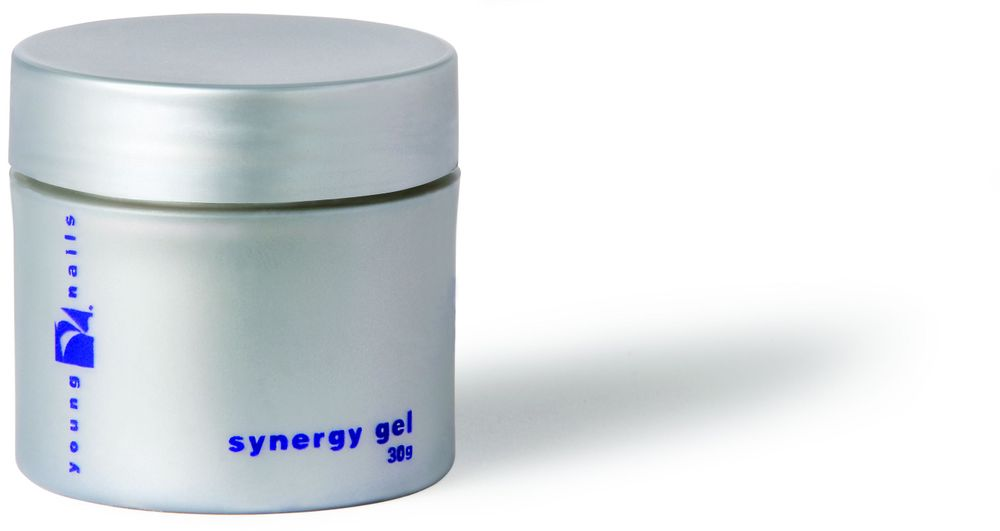 "<p><a href=""http://www.youngnails.com/"">Young Nails</a>&rsquo; Synergy Gel System includes Base, Build, White Sculptor, and Concealer Pink traditional gels. Base is self-leveling and has a thin viscosity. Build Gel is perfect for creating an enhancement or support needed on flat nails. White Sculptor Gel makes the ultimate smile line. A neutral shade of pink matches cool skin tones and provides enough coverage to hide flaws or imperfections in the natural nail. All of these gels are available in 15 g., 30 g., and 60 g. sizes.</p>"