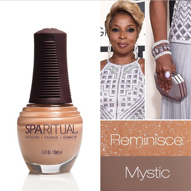 <p>Kimmie Kyees blended SpaRitual's Reminisce and Mystic for Mary J. Blige to rock at the Grammys. Image via @sparitualist</p>