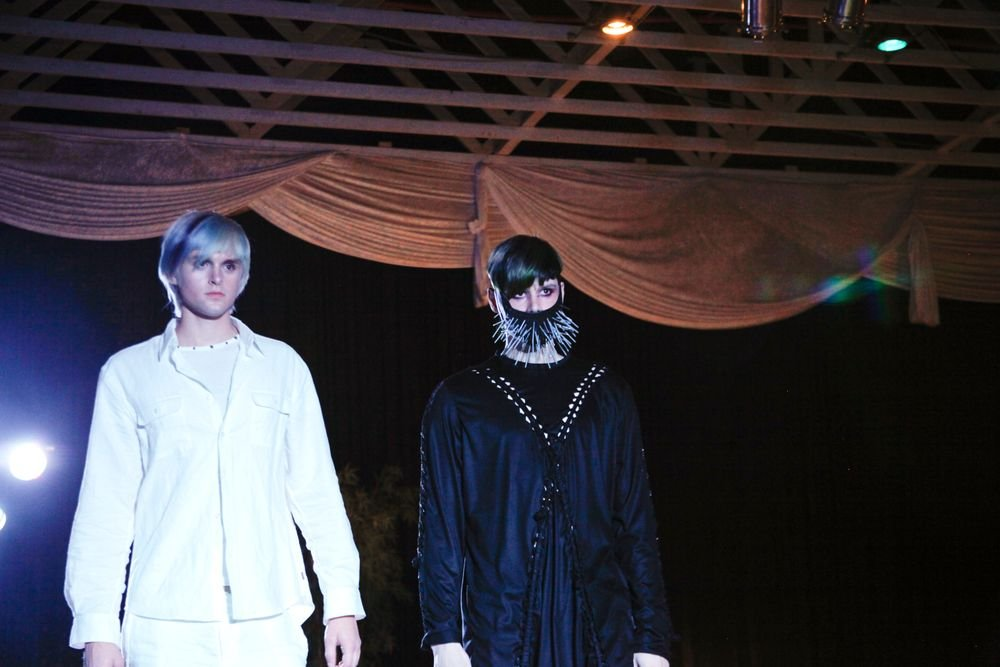 <p>Last year's winning looks from the North American Hairstyling Awards (NAHA) stopped by the event for an exhibition down the runway. Styles by Eli Mancha of Locked &amp; Loaded,&nbsp; 2011 NAHA Hairstylist of the Year in the Artistic category.</p>