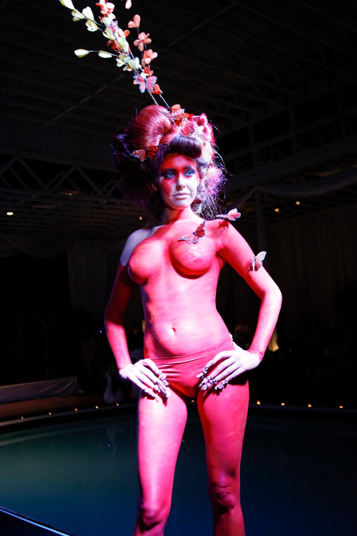 <p>Headliners Salon's red rock look.</p>