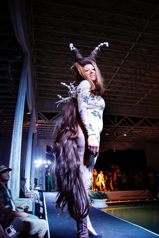 <p>Headliners Salon's coyote look.</p>