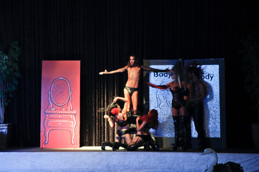 <p>Body Spa Salon took home the $500 first place prize and regional title of Supreme Salon with their hairstyles (and performance) inspired by the novel, <em>50 Shades of Grey</em>.</p>