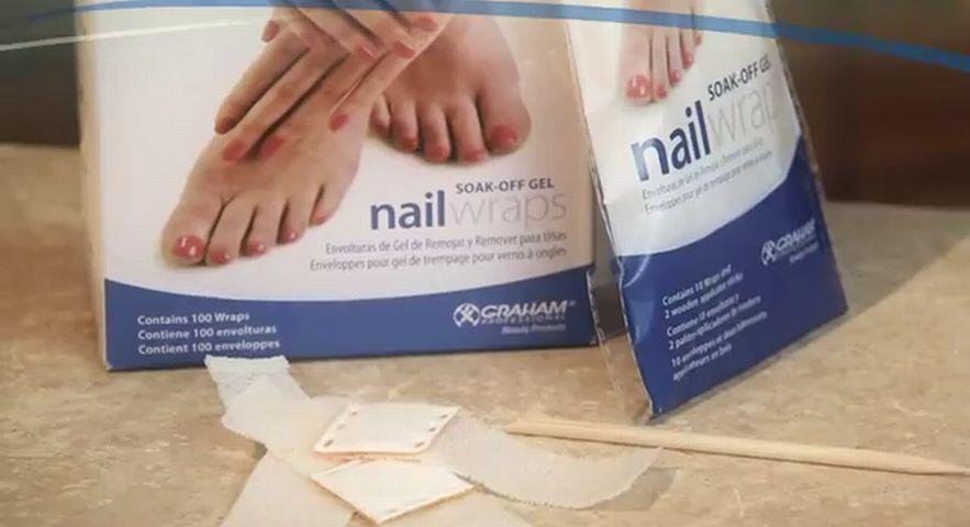 HandsDown Soak-Off Gel Nail Wraps