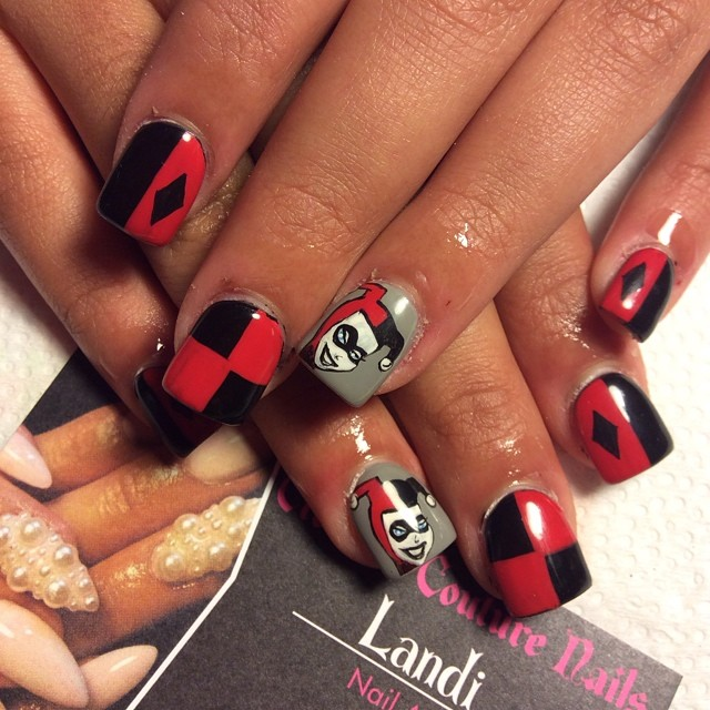 """<p>Nails by <a href=""""http://instagram.com/nailsbylykecandy"""">Landi, Crowned Couture Nails</a>, Fresno, Calif.</p>"""