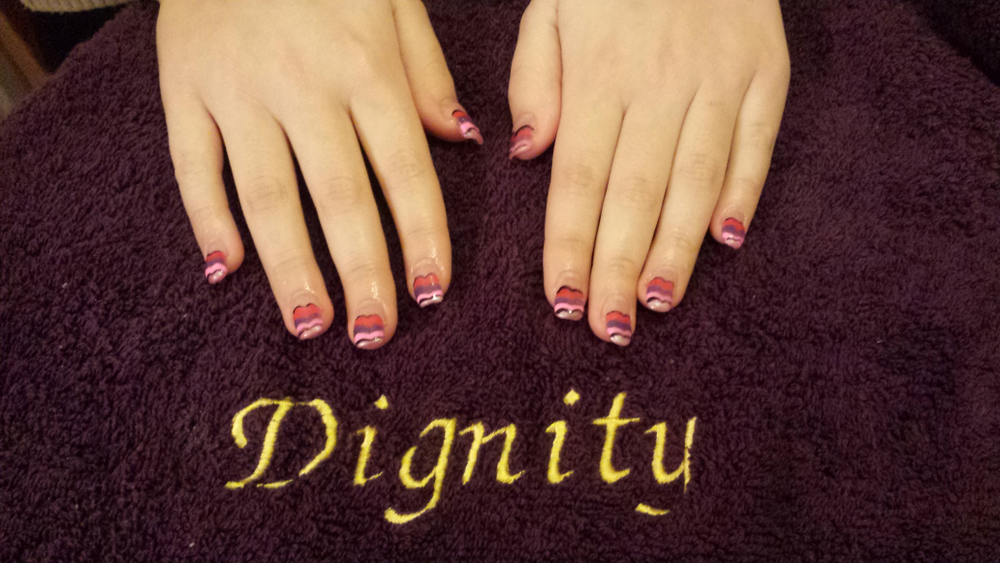 <p>Lucy Hosey, Dignity Nail Artistry, Southampton, England</p>