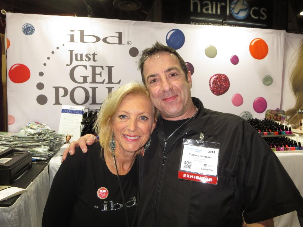 <p>IBD's Mary Metscaviz and Cullen Greentaner</p>