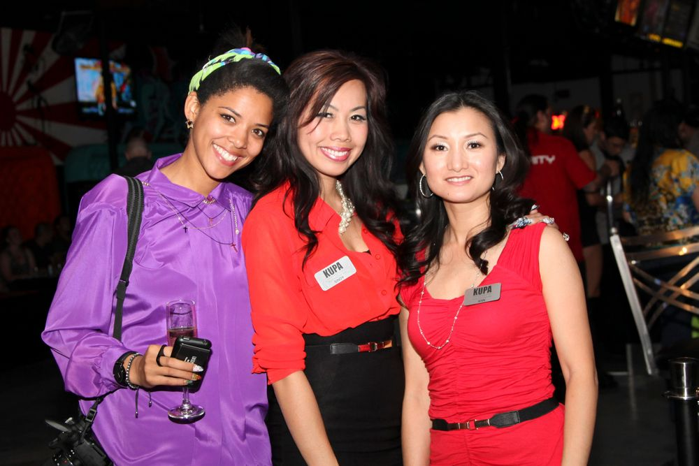 "<p><a href=""http://nailgasmdoc.tumblr.com"">Filmmaker Brass</a> with Beautiful Nails educators Sindy Mark and Ann Chang.</p>"