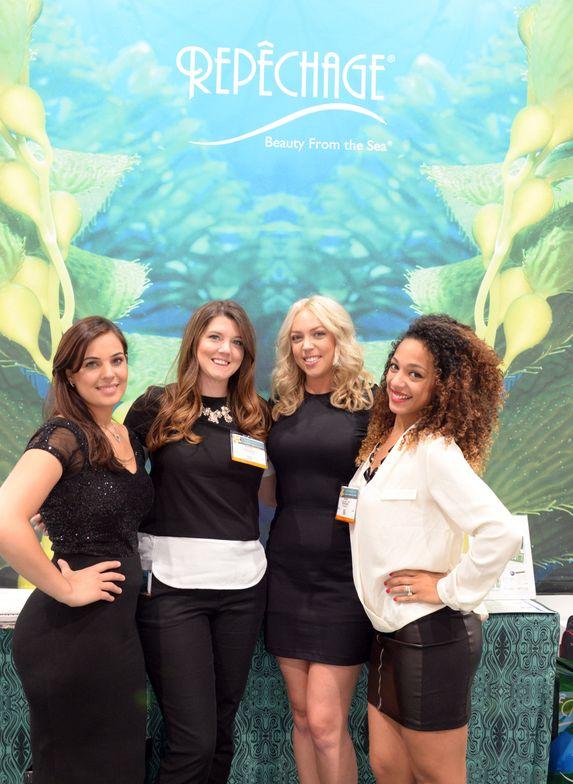 <p>Jasmina Mazari, Alyssa Sala Della Cuna, Erin Gibbard, and Tiffany Saint-Cyrus</p>