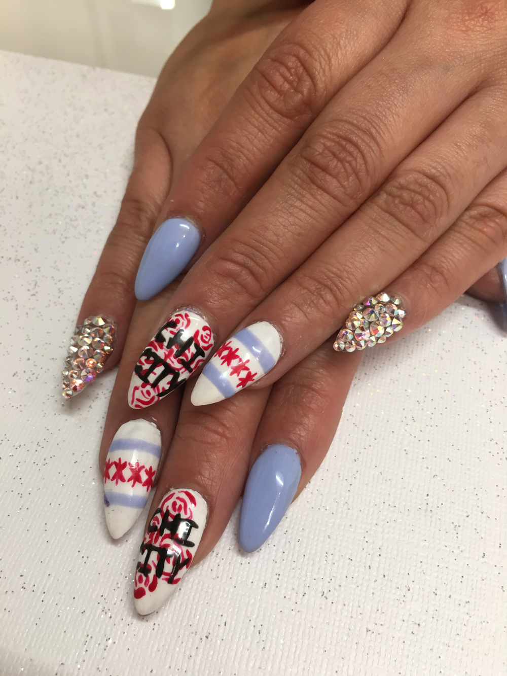 <p>Nails by Nikki Rios&nbsp;</p>