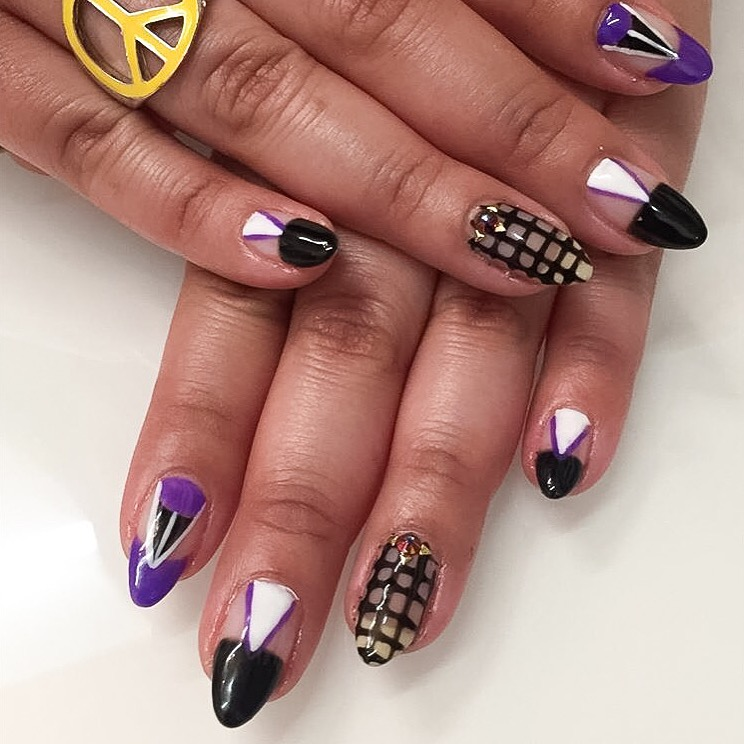 <p>Nails by Nikki Rios for NAILS' associate editor&nbsp;Sigourney Nu&ntilde;ez</p>