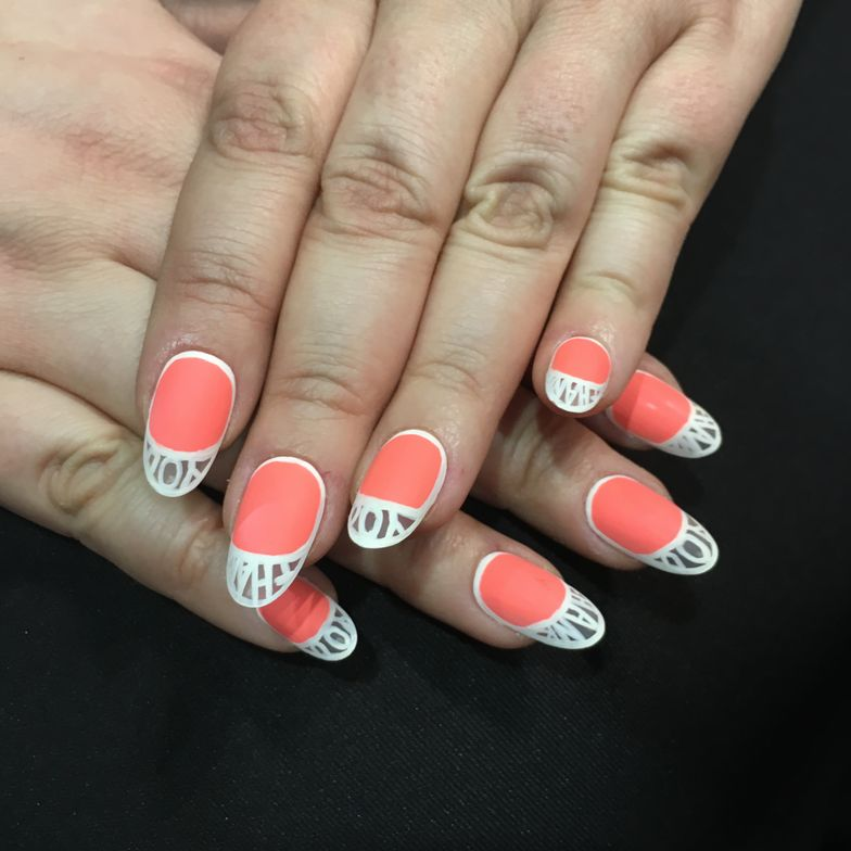 <p>Nails by Ashley Gregory&nbsp;</p>