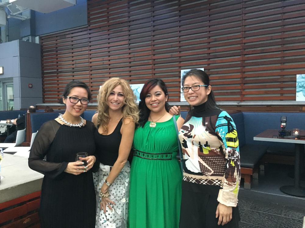 <p>NAILS team Yuiko Sugino, Danielle Parisi, Sigourney Nu&ntilde;ez, and Kim Pham</p>