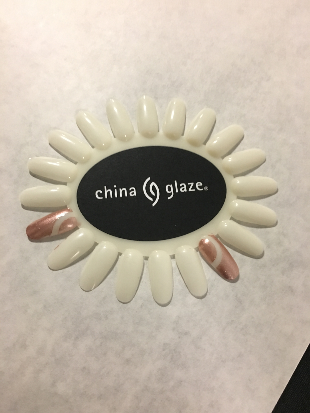 <p>The nail art concepts for China Glaze for Alice + Olivia</p>