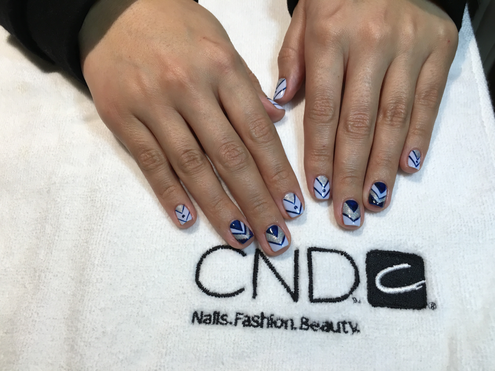 <p>Nail art by Vicky Llongo at Escape Salon in New York City</p>
