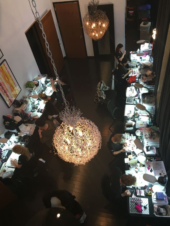 <p>A look at the CND Design Lab from up top</p>