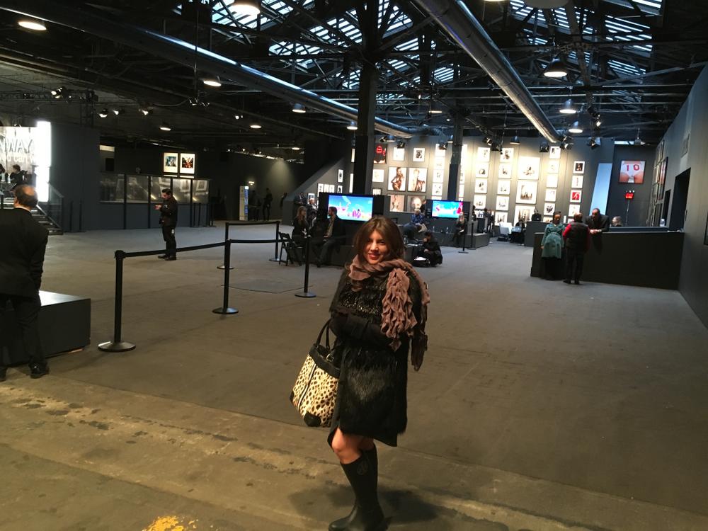 <p>Inside NYFW at Moynihan Station</p>