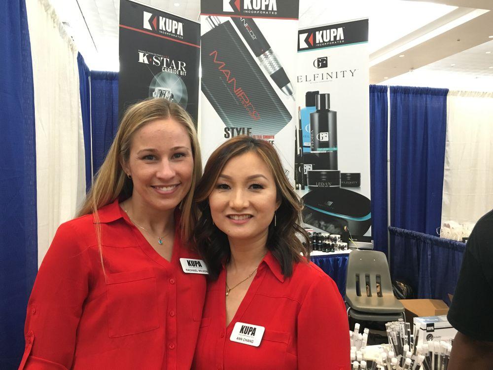 <p>Kupa's Rachael Wilson (left) and Ann Chang&nbsp;</p>