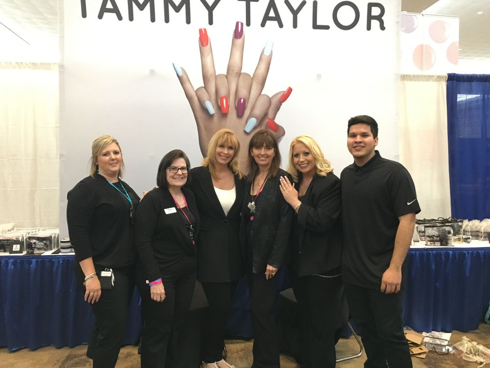 <p>From left: Tammy Taylor's Ann-Marie Brown, Rosie Hoops, Tammy Taylor, Diane Warth, MAry Stokus, and Jack Taylor.&nbsp;</p>