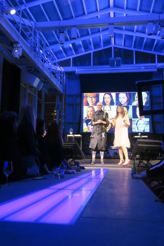 <p>CND's Jan Arnold and Beth Livesay talking about the Top 12 from S. 4</p>