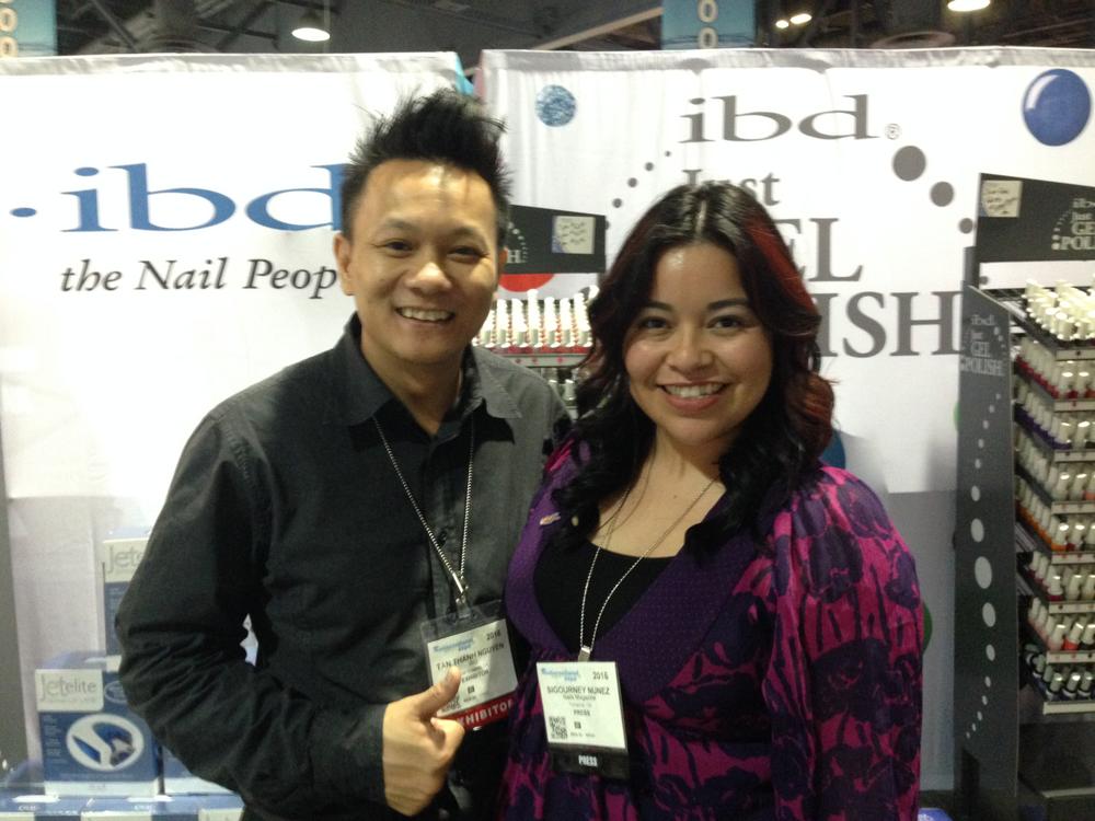 <p>AII's tan Nguyen and&nbsp;NAILS associate editor Sigourney Nu&ntilde;ez</p>