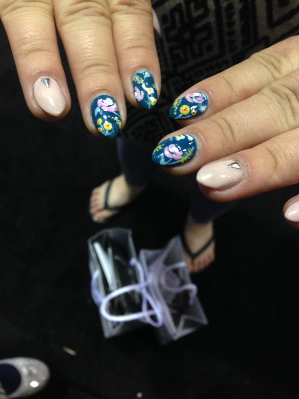 <p>Nails by Danielle Lubin</p>