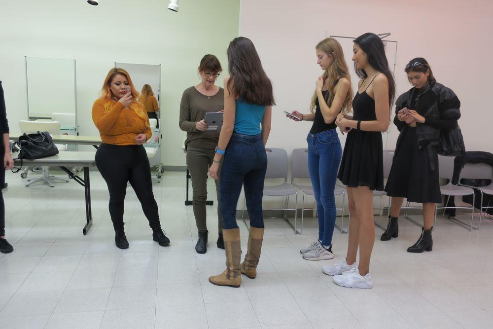 <p>Model casting</p>