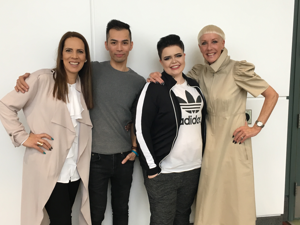 <p>NAILS NTNA Top 3 with Jan Arnold of CND</p>