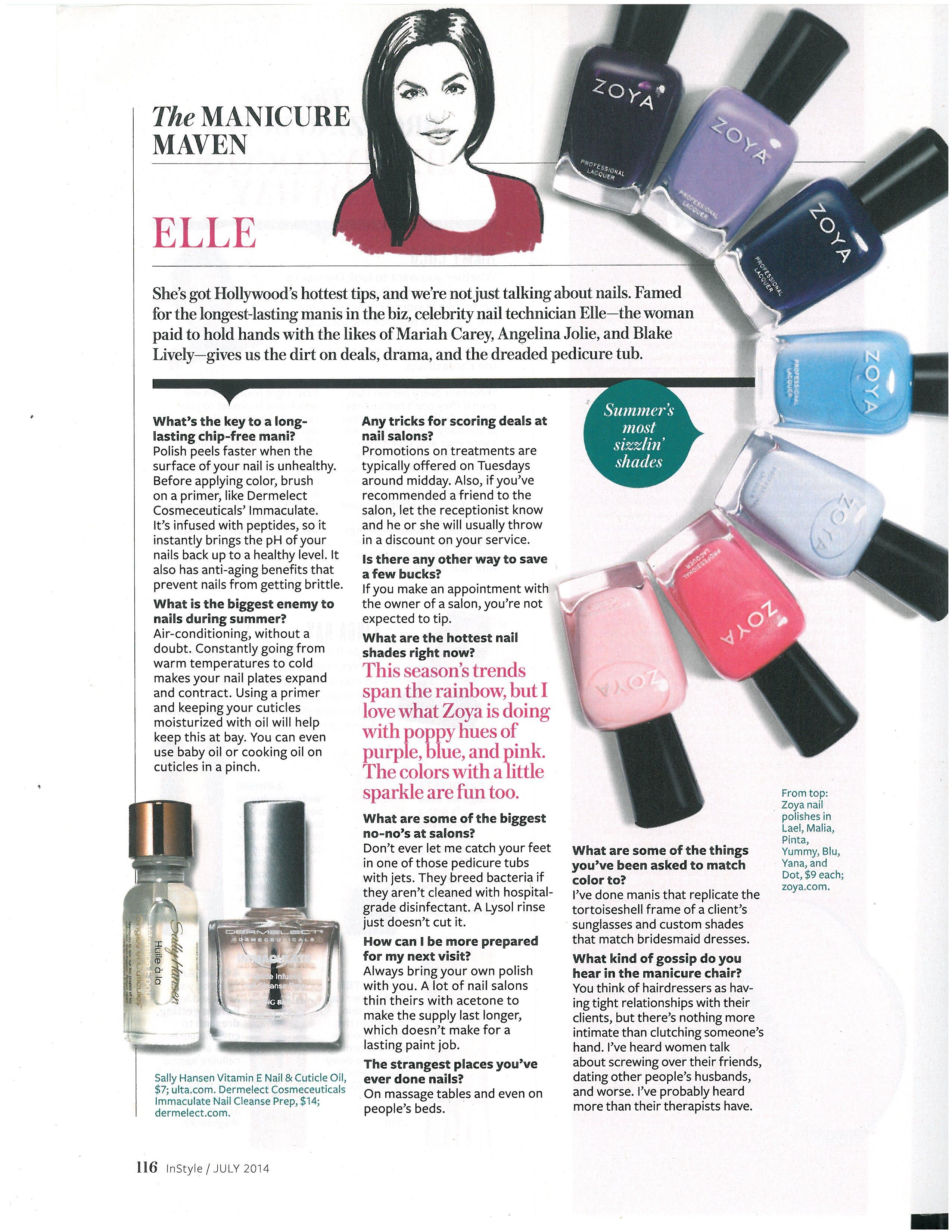 The Manicure Maven: Elle