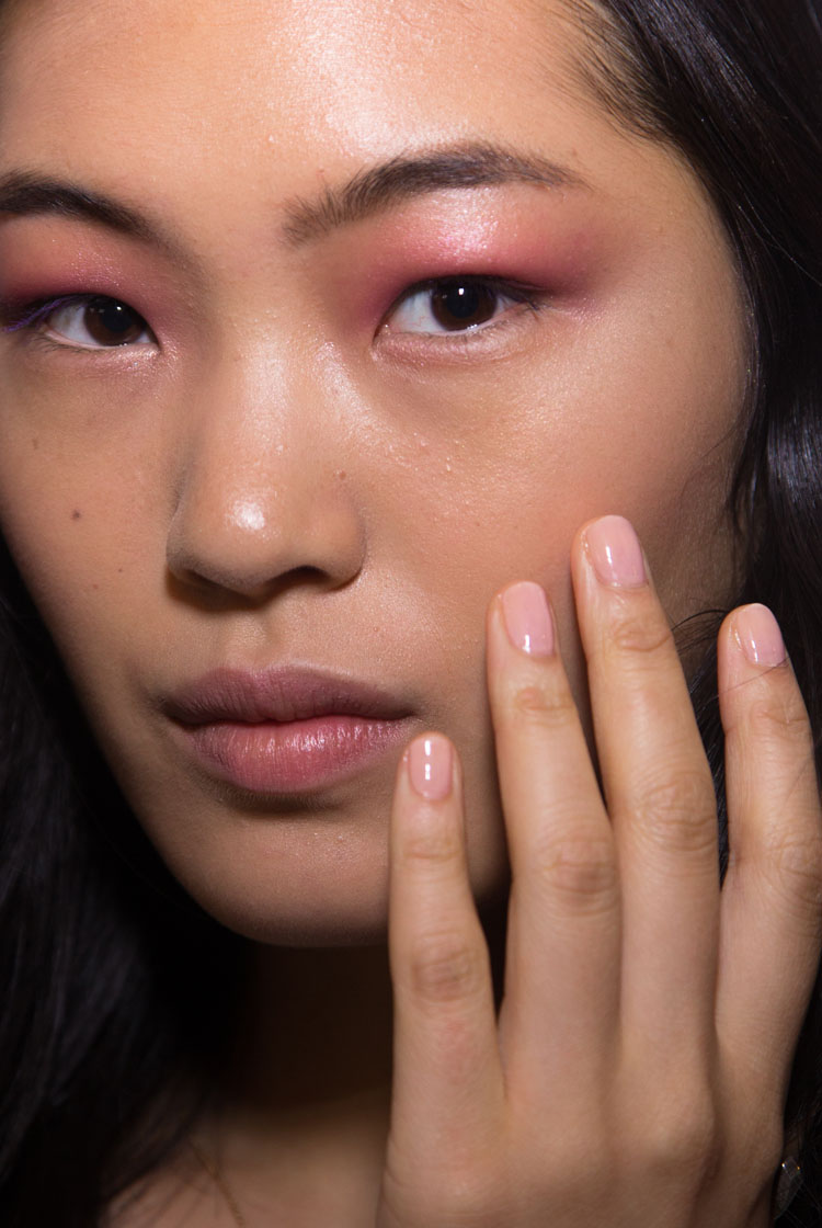 <p>Use JINsoon Nostalgia and Muse to recreate the runway look at Derek Lam.&nbsp;Photo courtesy of Jin Soon Choi.</p>